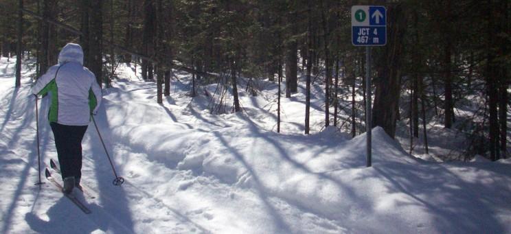 Club de ski bord de l'eau